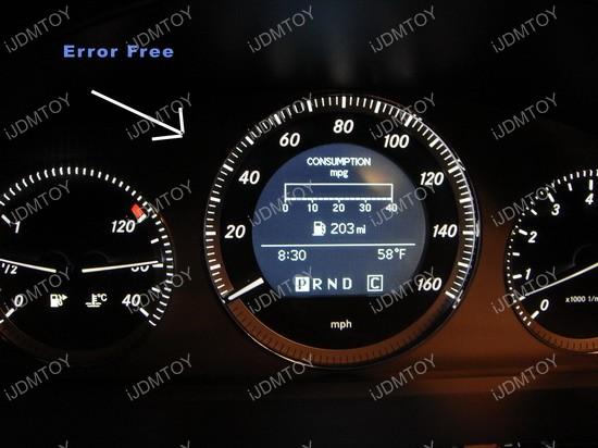 Mercedes - GLK350 - LED - parking - lights 3